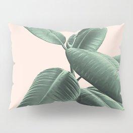 Ficus Elastica #25 #SummerVibes #foliage #decor #art #society6 Pillow Sham
