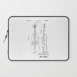 patent art Brown et al Violin 1930 Laptop Sleeve