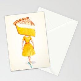 Cake Head Pin-Up - Lemon Stationery Cards