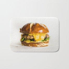 Delicious Hamburger Bath Mat