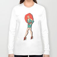 merida Long Sleeve T-shirts featuring Diva, Merida by Anthony Michael