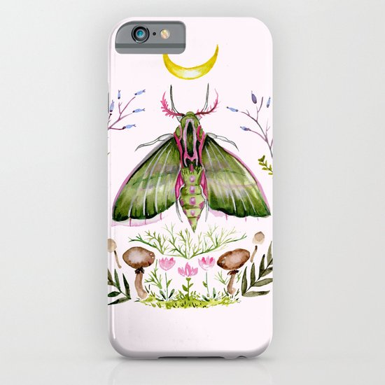 Pink Moth iPhone & iPod Case