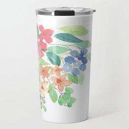 Cluster of flowers Travel Mug