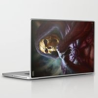 skeletor Laptop & iPad Skins featuring Skeletor by ImmarArt
