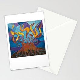 Burning Bush Mosaic II Stationery Cards
