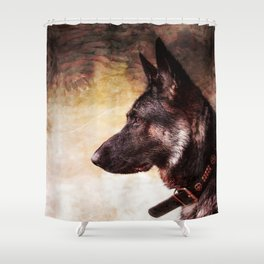 The magic of Love Shower Curtain