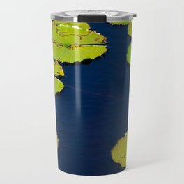 Dark Blue Pond by Teresa Thompson Travel Mug