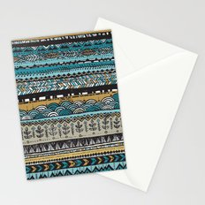 Duck egg and Gold Stationery Cards
