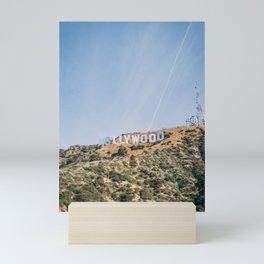 Hollywood Sign Los Angeles Mini Art Print