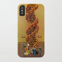 dna iPhone & iPod Cases featuring DNA  by Monster Rally / Ted Feighan
