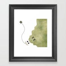 Scuba Tea Framed Art Print