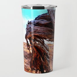 Patterns of the Outback Travel Mug