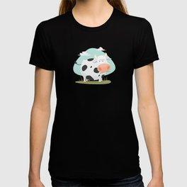 Happy fat cow T-shirt