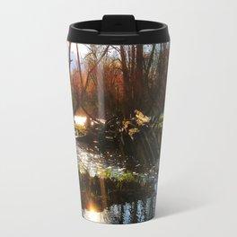 Sunrise River View Travel Mug