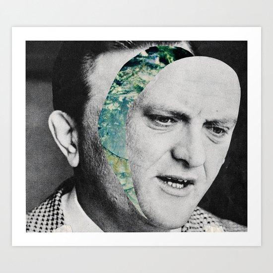 Where's your head going? Art Print