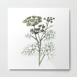 watercolor flower 2 . art Metal Print