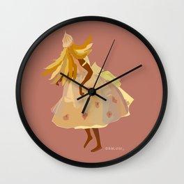 ORIXAS_ obaluaiê Wall Clock