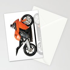 KTM RC8 motorbike Stationery Cards