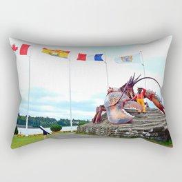 Shediac Lobster Rectangular Pillow