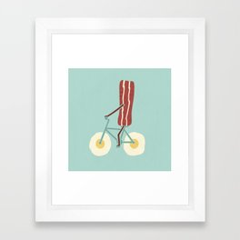 Sunny Ride Framed Art Print