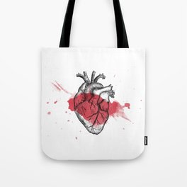Anatomical heart - Art is Heart  Tote Bag