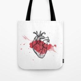 Anatomical heart - Art is Heart  Tote Bag
