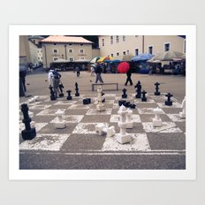 Check Mate (Austria) Art Print