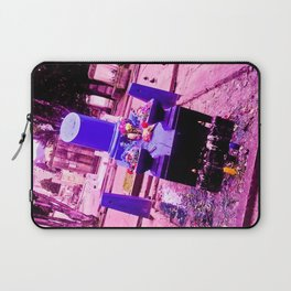 The most sinister cemetery grave. Laptop Sleeve