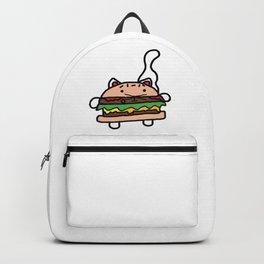 Burger Cat Backpack