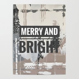 Snowfall - merry and bright Poster