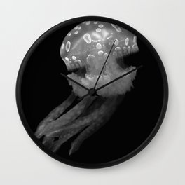 It Would Be Spiteful To Put Jellyfish In A Trifle Wall Clock