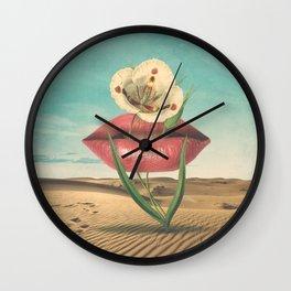 Plantinum Wall Clock