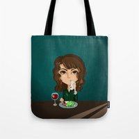 fancy Tote Bags featuring Fancy by Iuly Vasile