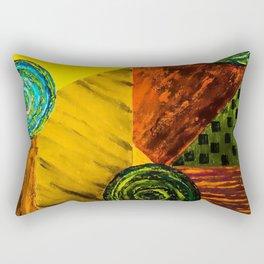 Life Gears Rectangular Pillow