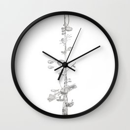 The Tower of Love Wall Clock