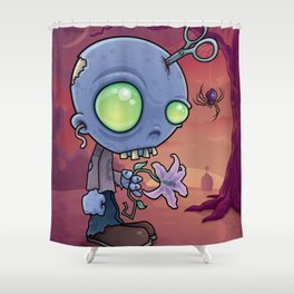 Zombie Jr. Shower Curtain