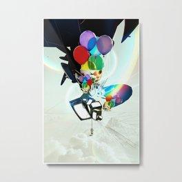 Fabricated Dreams Metal Print