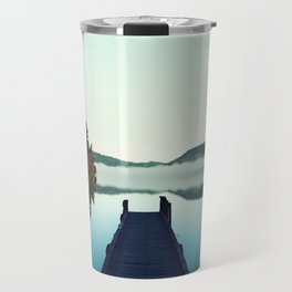 Gloomy dock Travel Mug
