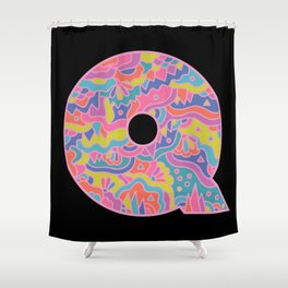 Q is for Queer Shower Curtain