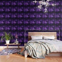 gaLaxy. Dark Purple Stars Wallpaper