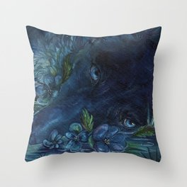 disappear Throw Pillow