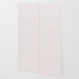 Marron Dots Wallpaper