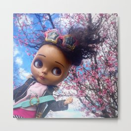 Cherry Blossom Time Metal Print