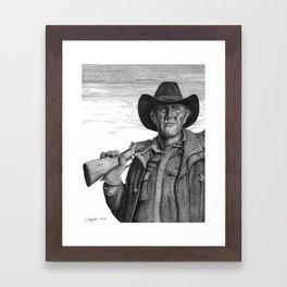 Longmire Framed Art Print