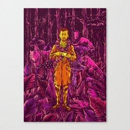 Adam in Wonderland Canvas Print