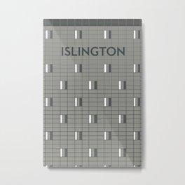 ISLINGTON | Subway Station Metal Print