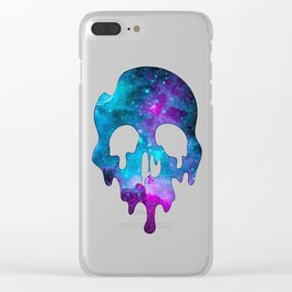 Galaxy Skull Clear iPhone Case