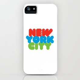 New York City Style iPhone Case