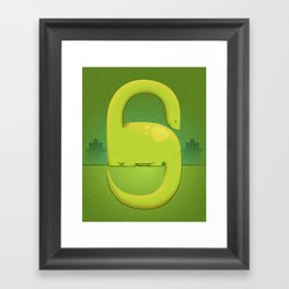 Dino Framed Art Print
