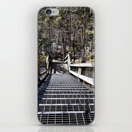 Tahquamenon Stairs iPhone Skin